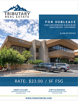 5500 Greenwood Plaza Blvd Denver Tech Center Sublease