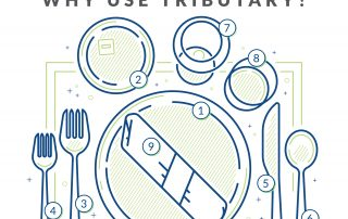 Why Use Tributary infographic